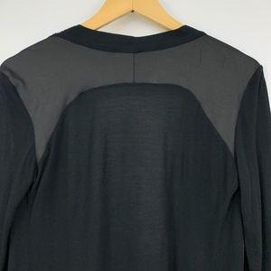 Zara Sweaters - Zara W&B Collection Thin Kimono Top Faux Leather